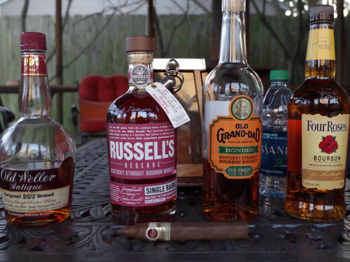 bourbon and cigar pairing
