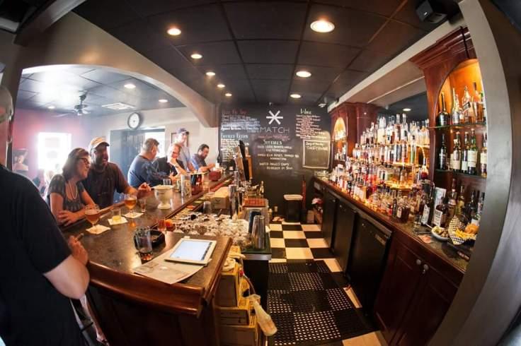 Match Cigar Bar, courtesy of Linda Doane